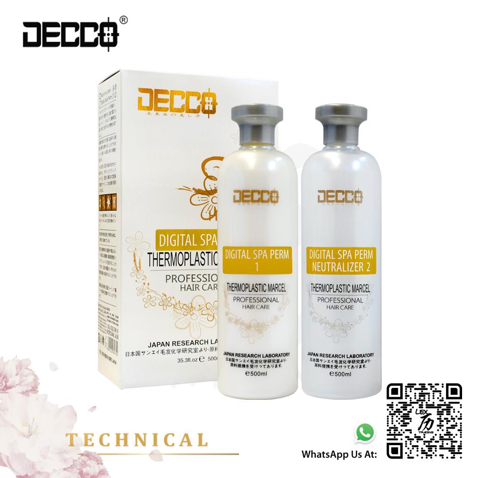 Digital Spa Perm Set (Cream)