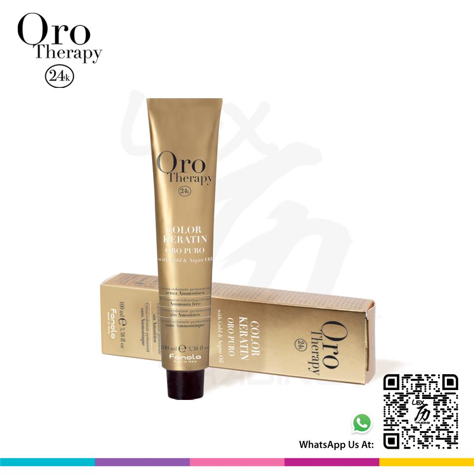 Oro Therapy Color Keratin Oro Puro